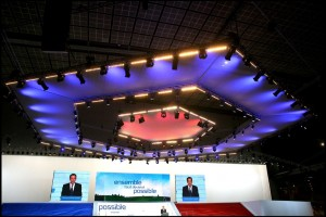 Nicolas Sarkozy's nomination meeting