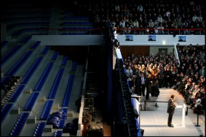 Nicolas Sarkozy's meeting in Saint Quentin