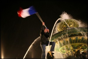 French presidential election. Nicolas Sarkozy's victory