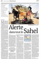 On assignment in Niger for Le Monde