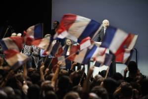 Alain Juppé en meeting à Paris
